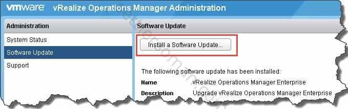 Upgrade VMware vRealize Operations 6 2 to 6 6